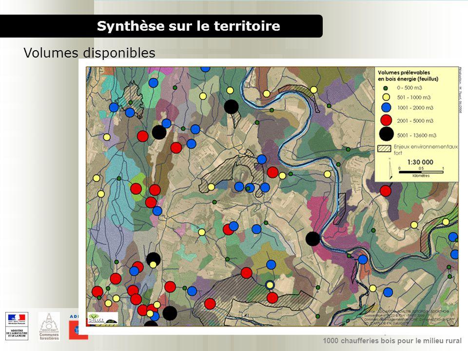 1000 chaufferies bois pour le milieu rural PAT Pays Loue-Lison Synthèse sur le territoire Volumes disponibles