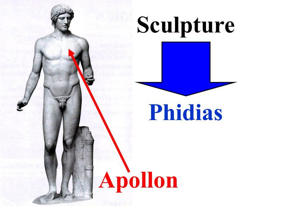 Sculpture Apollon Phidias