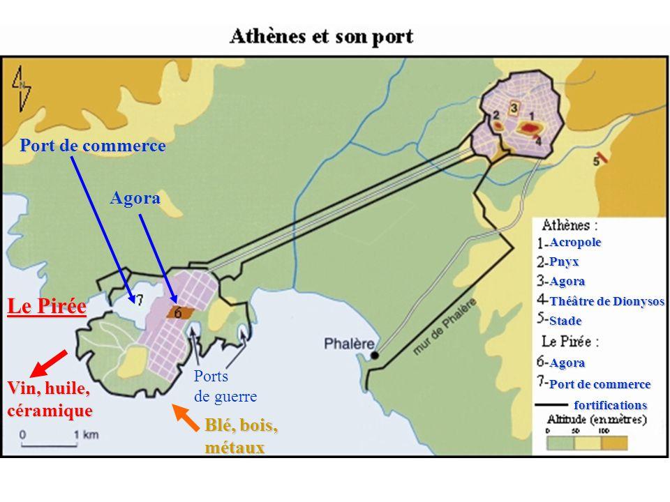 Page de droite 1) Athènes une grande cité : a) Lorganisation de la ville : La ville dAthènes est organisée autour de lAcropole et dune place publique : lAgora.