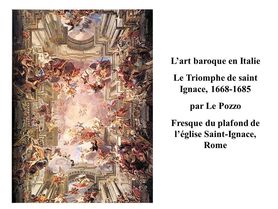 Londres ESPAGNE BAVIERE AUTRICHE Rome PAYS-BAS Paris Versailles Zone de forte diffusion de l art baroque Foyer de l art baroque et diffusion Foyer de l art classique École hollandaise