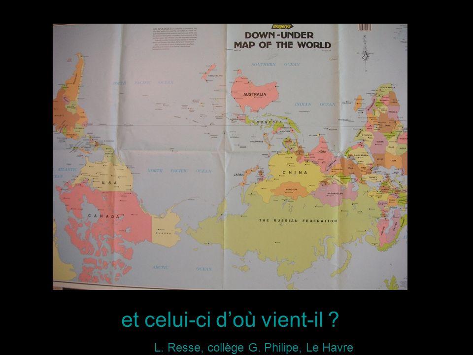 et celui-ci doù vient-il L. Resse, collège G. Philipe, Le Havre