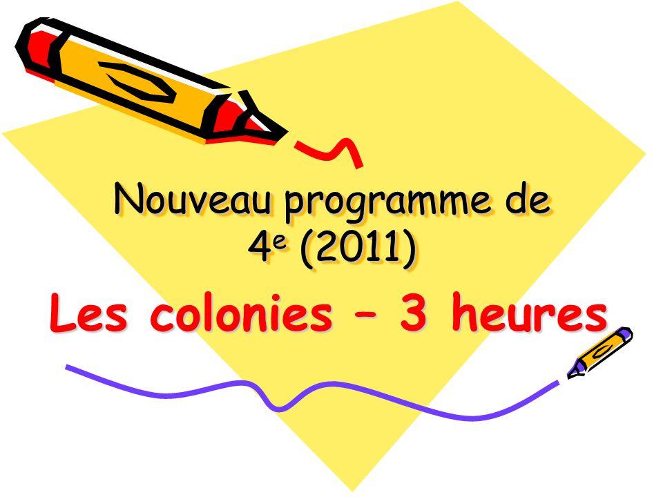 Colonie / Définition * Dictionnaire de la langue française : Territoire occupé par une nation en dehors de ses frontières.