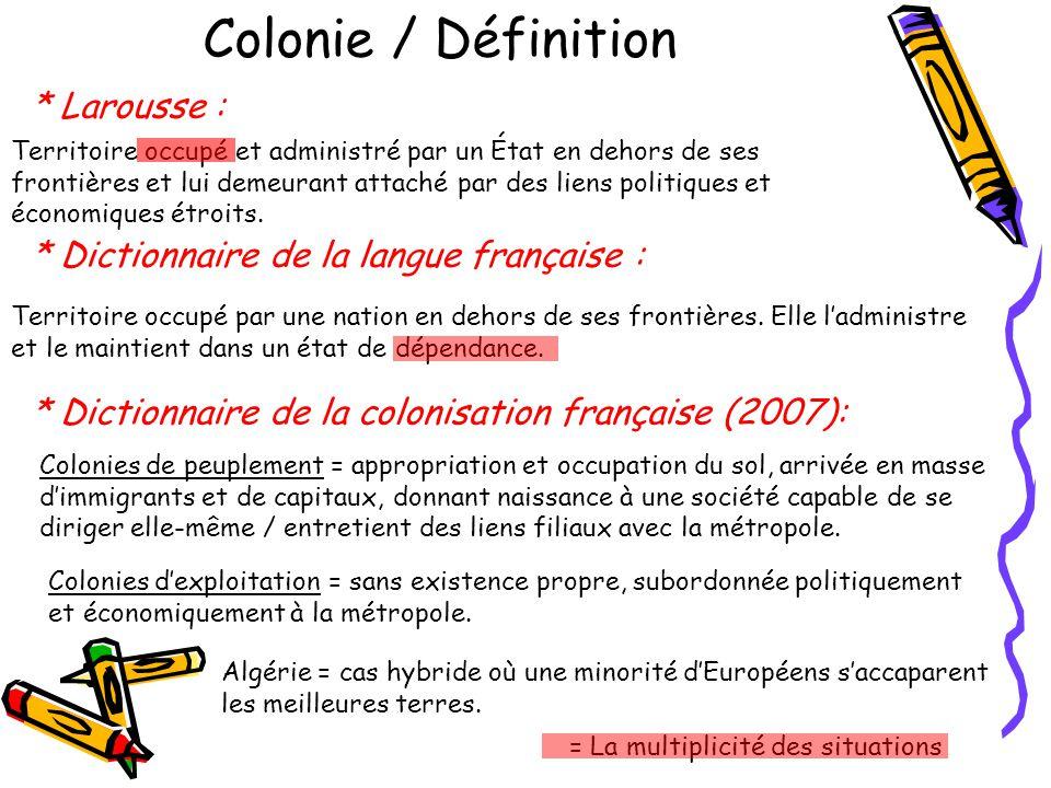 Autre possibilité pour létude de lAOF : Manuel GASQUET, Blancs de mémoire (2004), documentaire de 52 mn sur laffaire Voulet-Chanoine vue du côté des colonisés, co-produit par le Sceren et le CNDP.