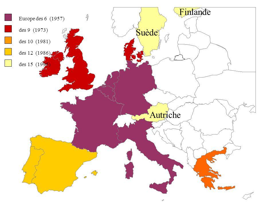 Allemagne réunifiée en 1990 Fin du rideau de fer