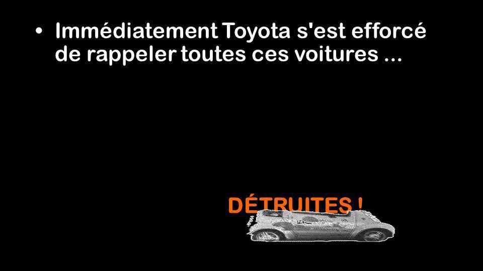 Le coût de la charge : 0,09 $ US par kW/heure, charge complète du véhicule : 2,70 $. En 2005, les contrats de location ont expirés.