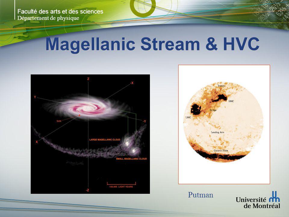 Faculté des arts et des sciences Département de physique Magellanic Stream & HVC Putman