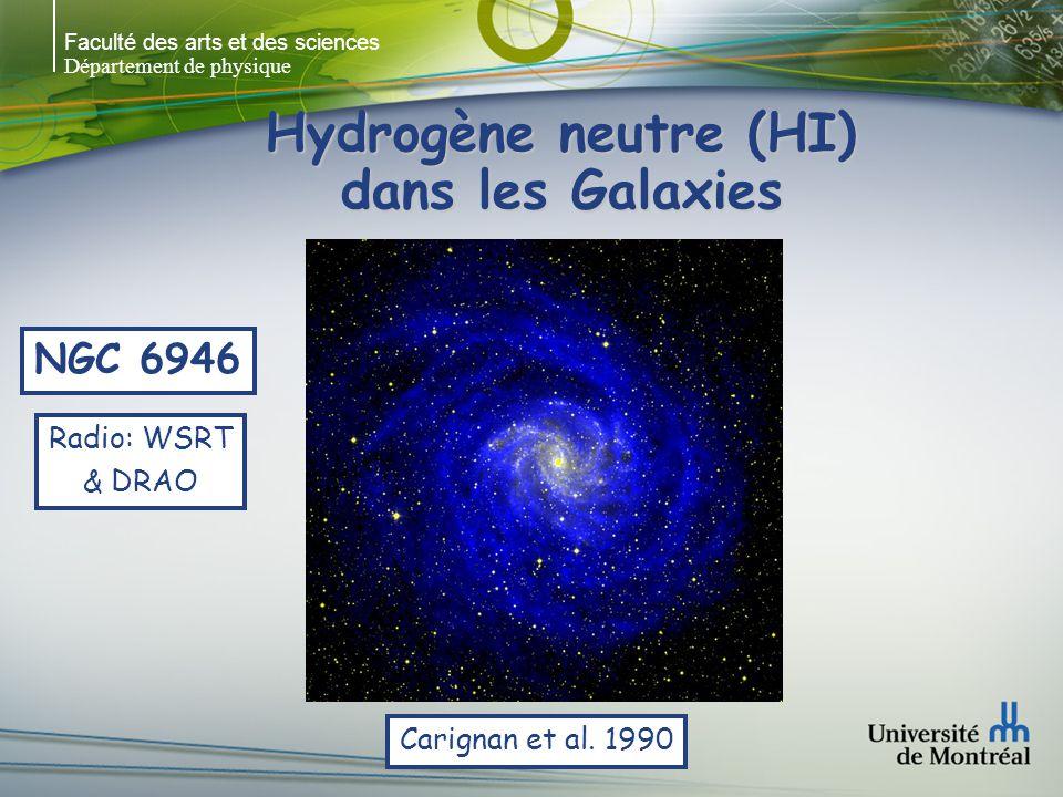 Faculté des arts et des sciences Département de physique Hydrogène neutre (HI) dans les Galaxies Meurer, G.R., Carignan, C., Beaulieu, S.