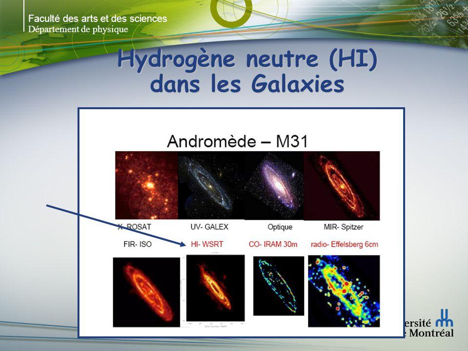 Faculté des arts et des sciences Département de physique Hydrogène neutre (HI) dans les Galaxies Radio: WSRT & DRAO NGC 6946 Carignan et al.