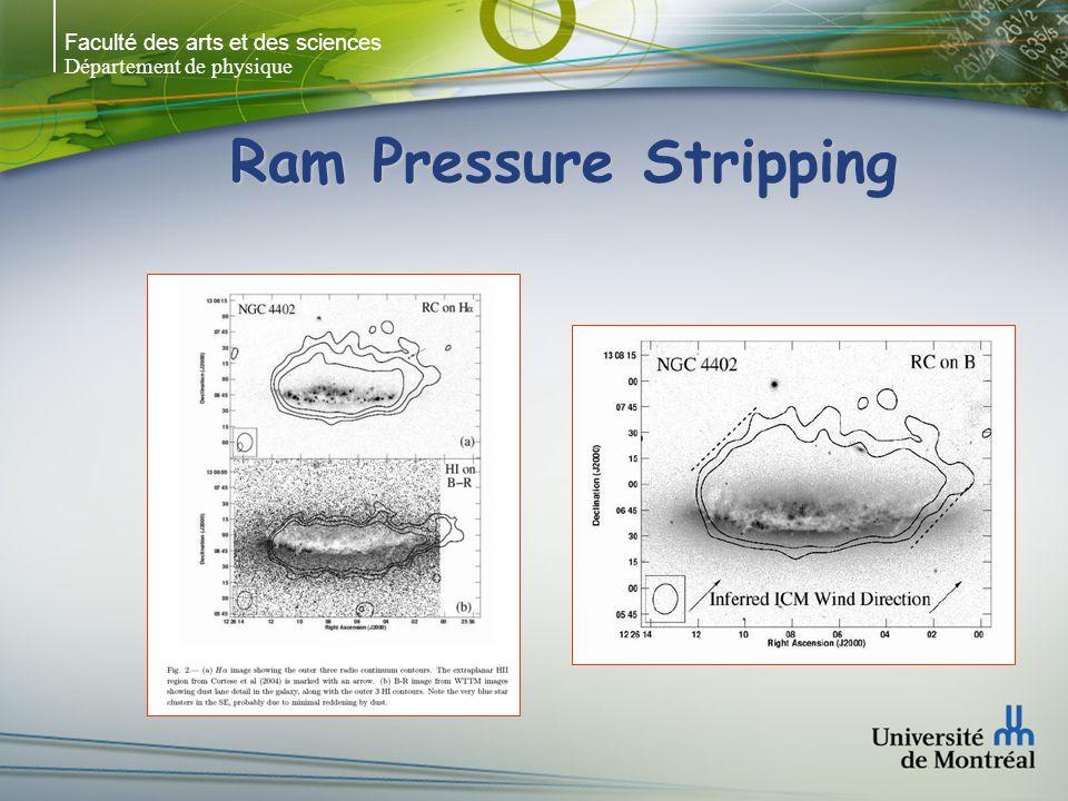 Faculté des arts et des sciences Département de physique Ram Pressure Stripping