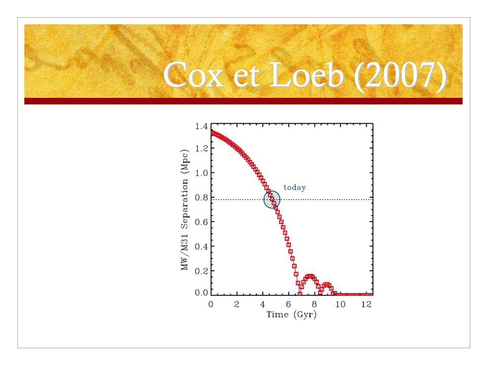 Cox et Loeb (2007)