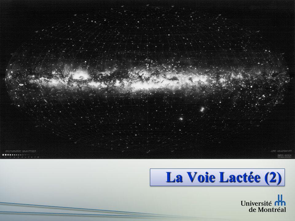 Faculté des arts et des sciences Département de physique Images de la Voie Lactée Centre dans le visible A V ~ 30 mag..