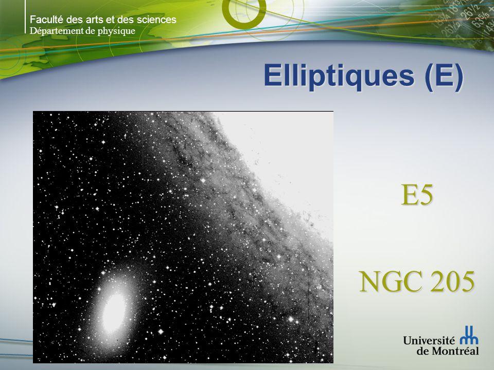 Faculté des arts et des sciences Département de physique Elliptiques (E) E5 NGC 205