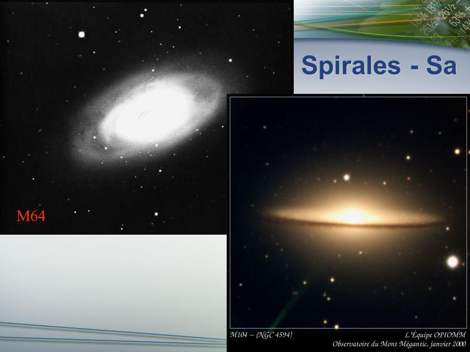 Spirales - Sb M88 M81 NGC 4565