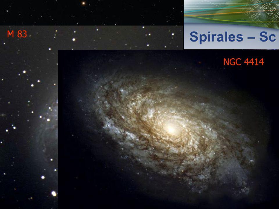 Spirales – Sc M101 NGC 891 M 83 NGC 4414