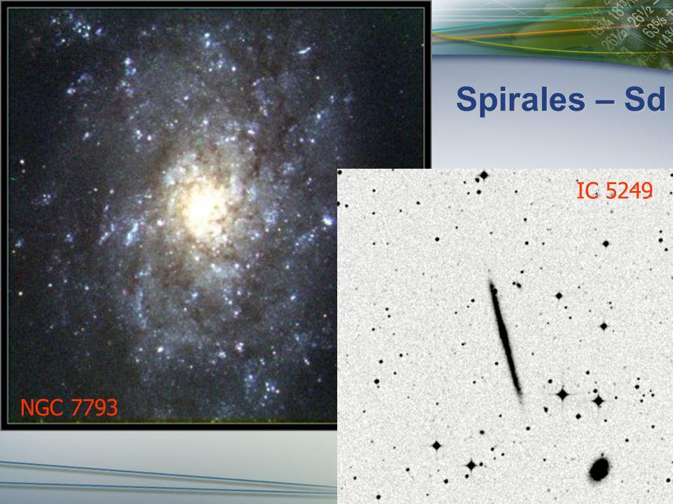 Spirales – Sd NGC 7793 IC 5249