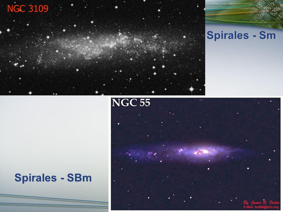 Spirales - Sm NGC 3109 Spirales - SBm