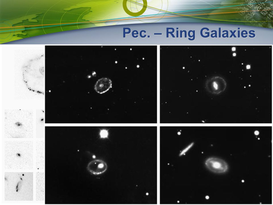 Pec. – Ring Galaxies