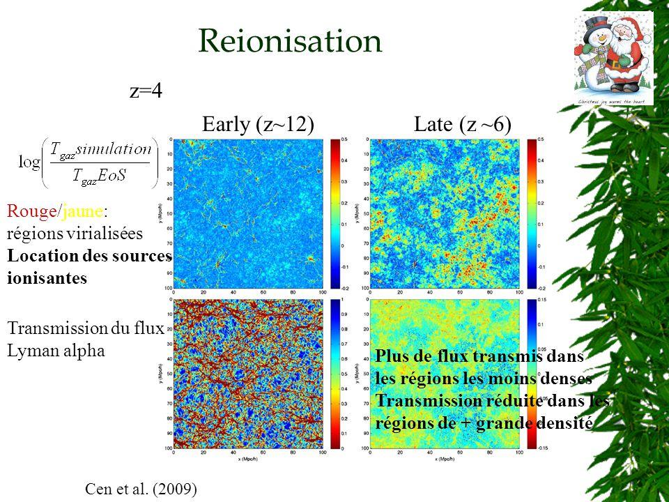 Reionisation Cen et al.