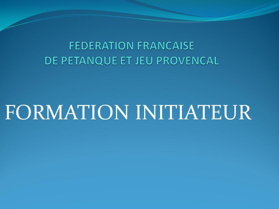 FORMATION INITIATEUR