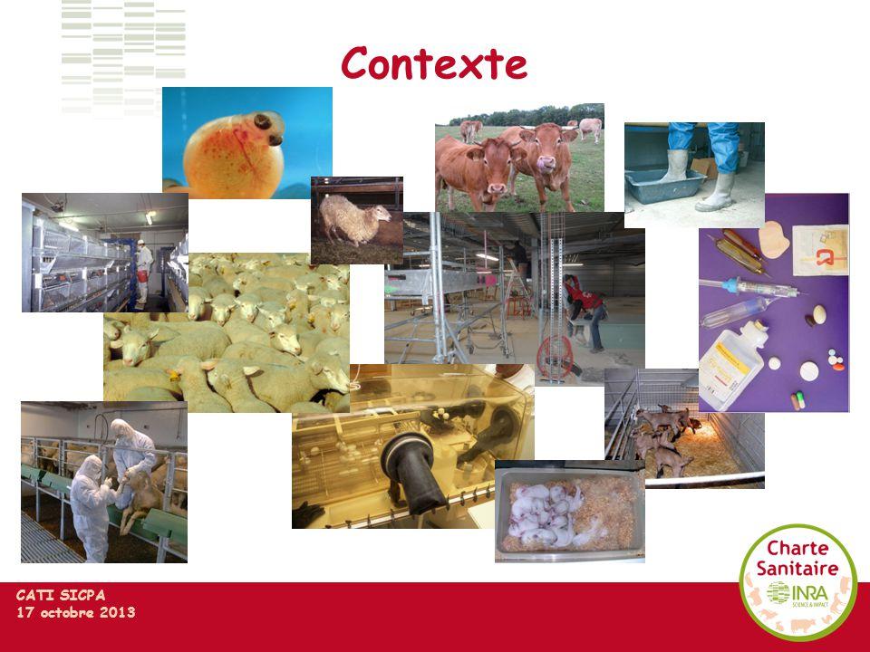 CATI SICPA 17 octobre 2013 Contexte
