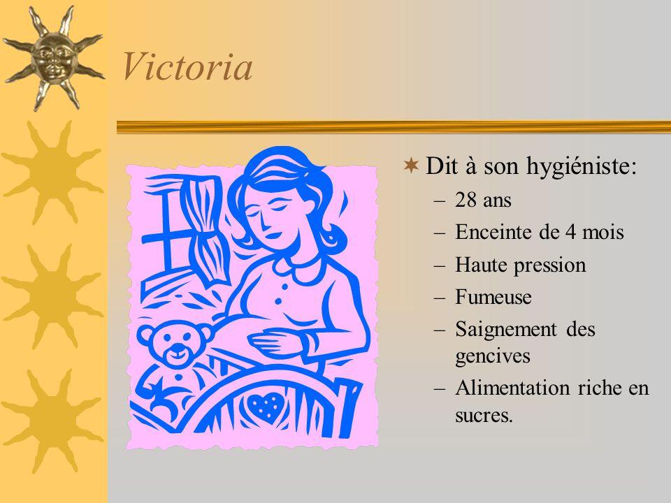 Histoire de Victoria page 126 du texte COOP#24 816 Plan de traitement complet Plan de traitement préventif