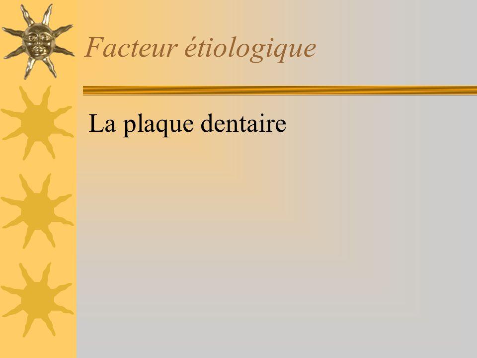 Identification des problèmes bucco-dentaires. Gingivite: –papilles gonflées –gencive marginale rouge –saignement Caries –sur les premières molaires