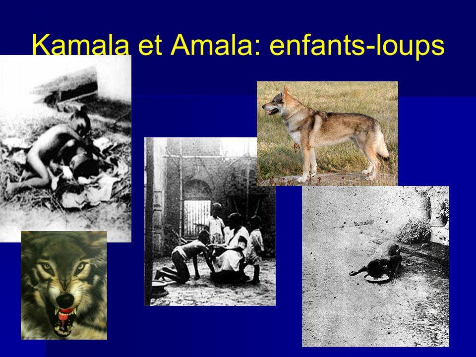 Kamala et Amala: enfants-loups