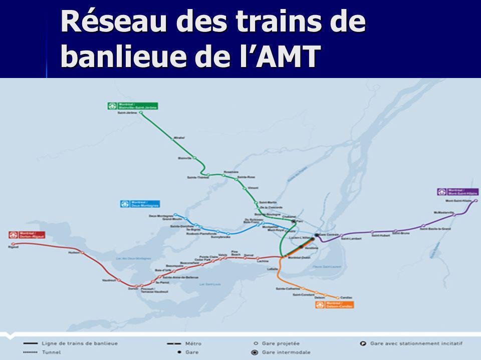 Réseau des trains de banlieue de lAMT
