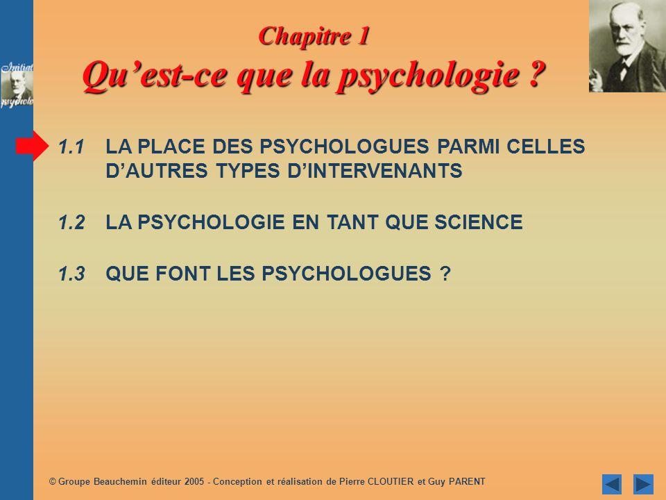 © Groupe Beauchemin éditeur 2005 - Conception et réalisation de Pierre CLOUTIER et Guy PARENT /