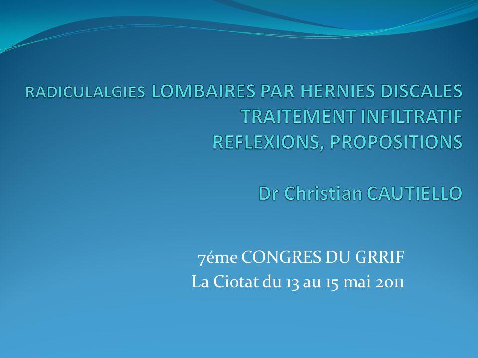7éme CONGRES DU GRRIF La Ciotat du 13 au 15 mai 2011