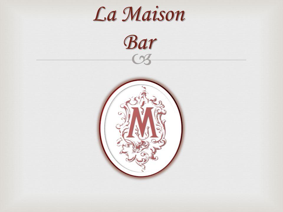 La Maison Bar offre des spécialement exceptionnelles cocktails dans lhôtel Massalia.