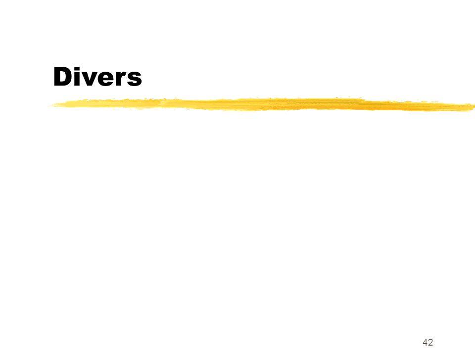 Divers 42