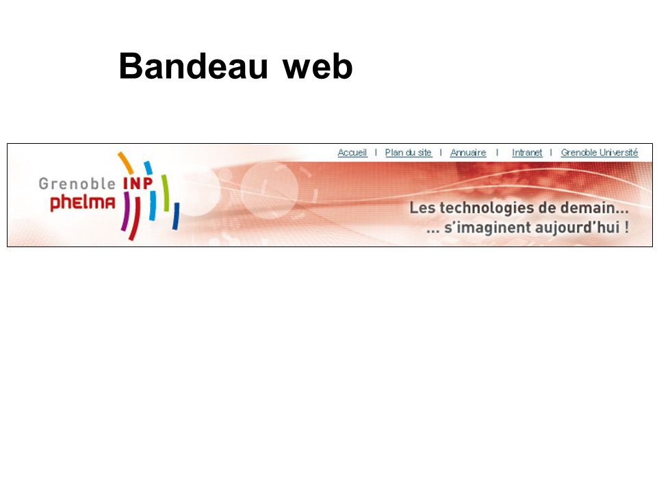 Bandeau web