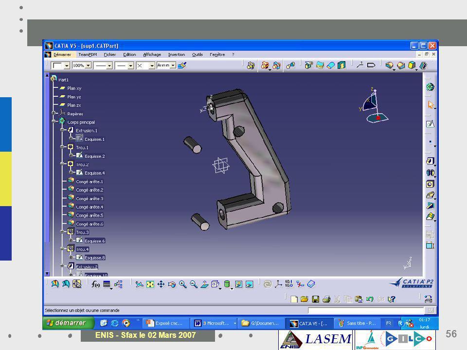 LASEM ENIS - Sfax le 02 Mars 2007 56