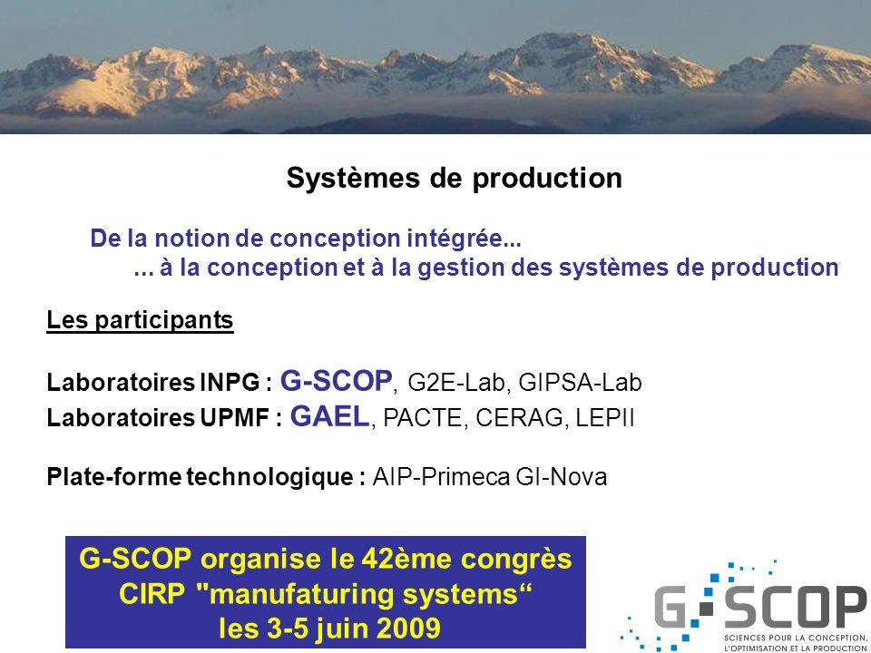 6 pôles de compétences Energie Environnement Information et Communication Micro et nanotechnologies Matériaux Systèmes de production