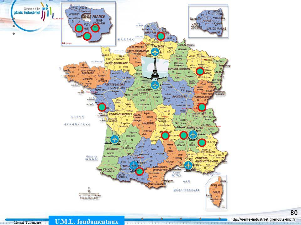 Michel Tollenaere U.M.L. fondamentaux 80 Pays de Loire ENS Cachan ENSAM Ile de France Auvergne Toulouse Rhône Alpes Ouest Lorraine Nord Pas de calais