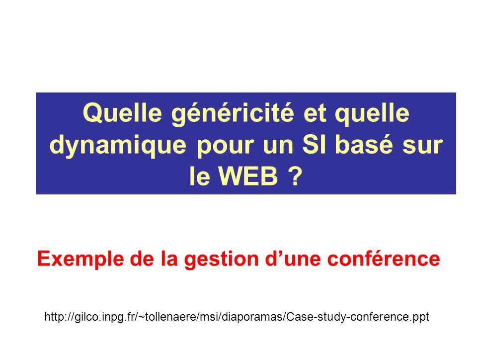 Site WEB dune conférence