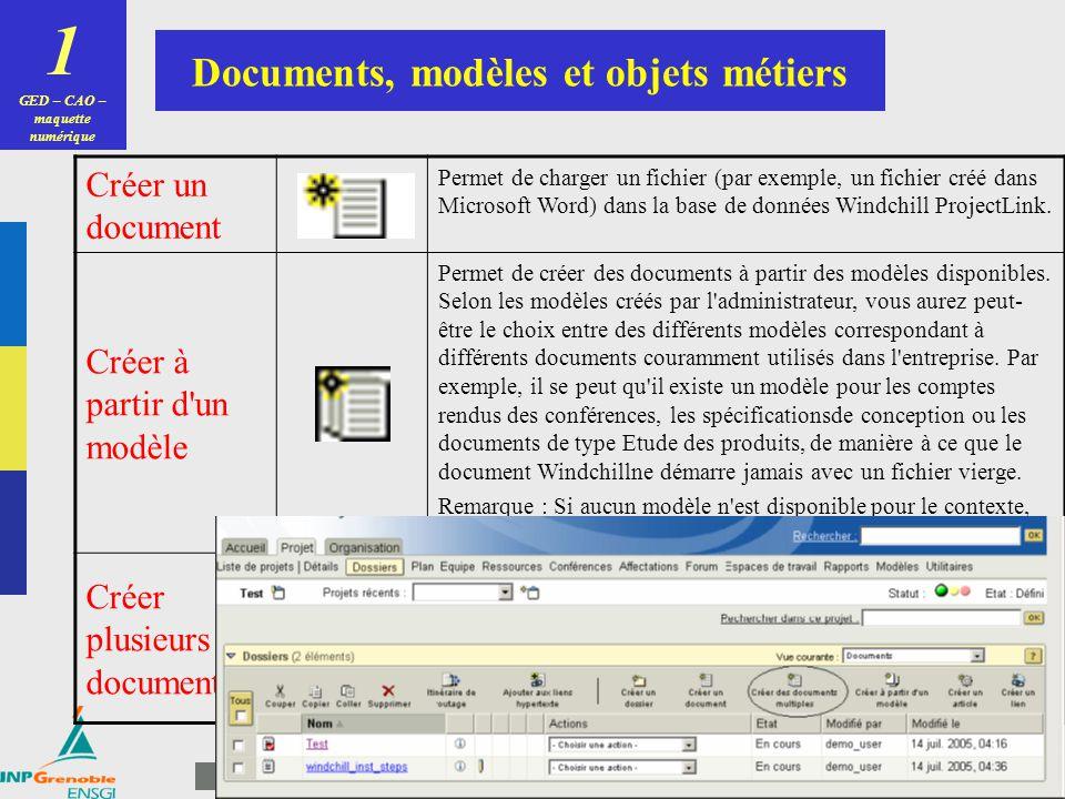 20 PLM / SGDT Master IPro3 Consultation de maquettes numériques 1 GED – CAO – maquette numérique 2D3D PTC Windchill ProductView Support détaillé dutil