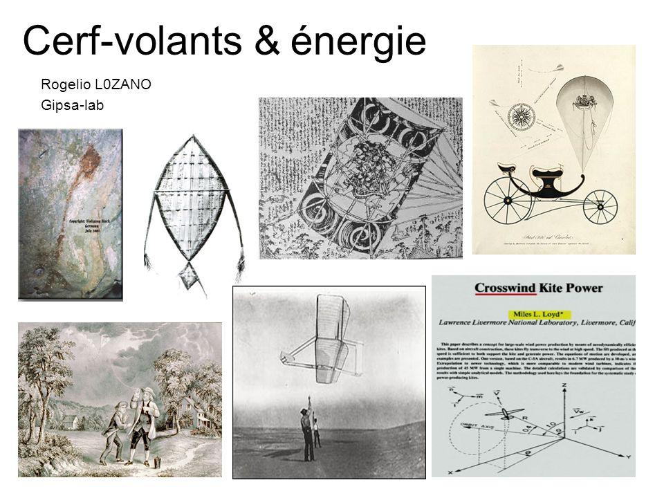 Cerf-volants & énergie Rogelio L0ZANO Gipsa-lab