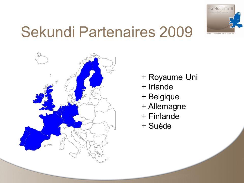 Sekundi Partenaires 2009 + Royaume Uni + Irlande + Belgique + Allemagne + Finlande + Suède