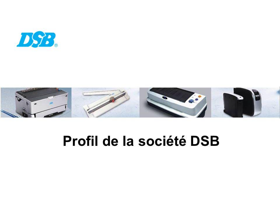 Profil de la société DSB