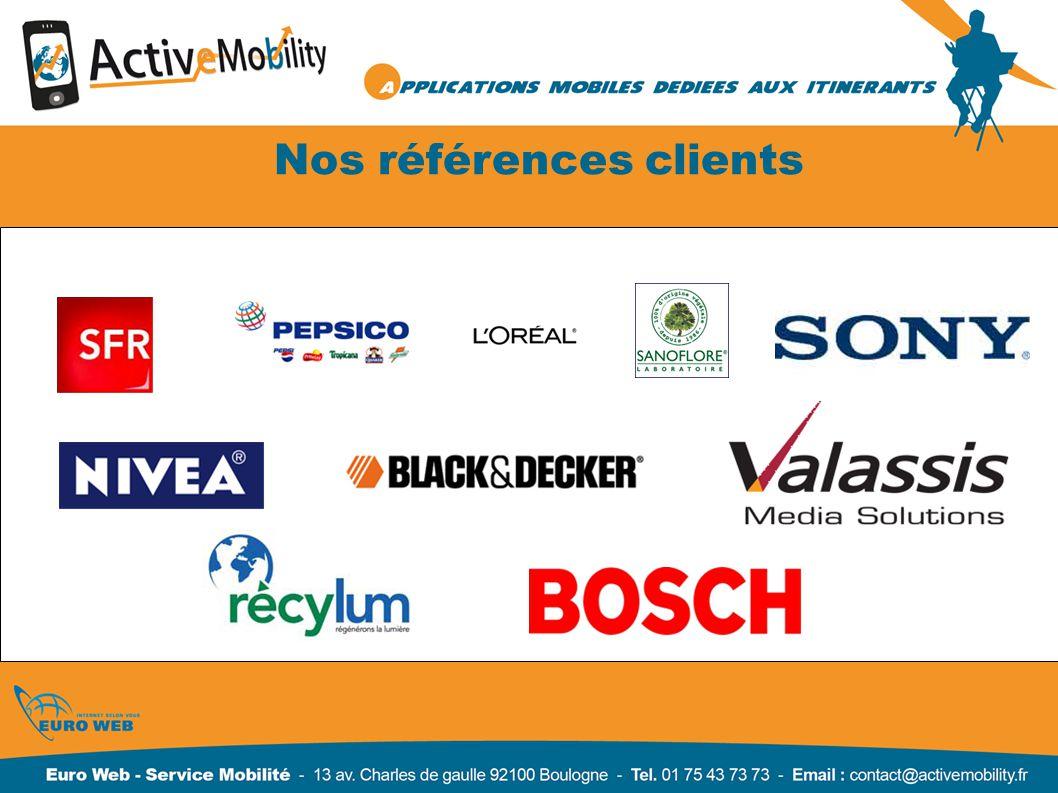 Nos références clients