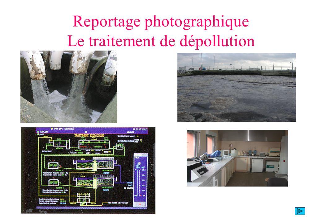 Reportage photographique Le traitement de dépollution