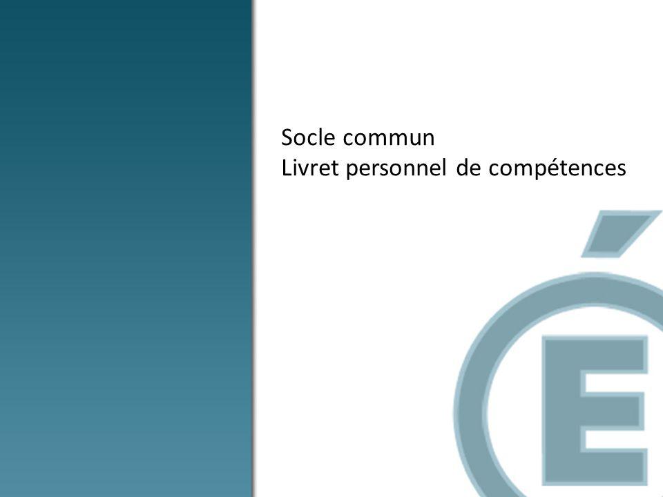 1.La maîtrise de la langue française 2.La pratique dune langue vivante étrangère 3.