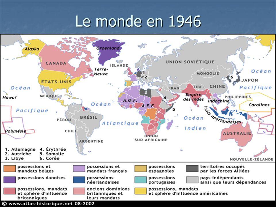 Le monde en 1946