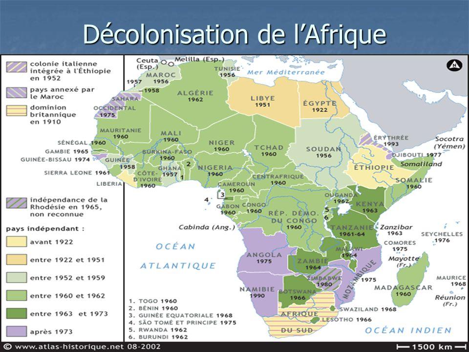 Décolonisation de lAfrique
