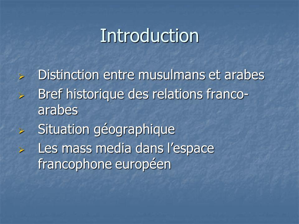 Population musulmane en Afrique du Nord et au Proche-Orient Musulmans Arabes et Berbères TurcsPerses