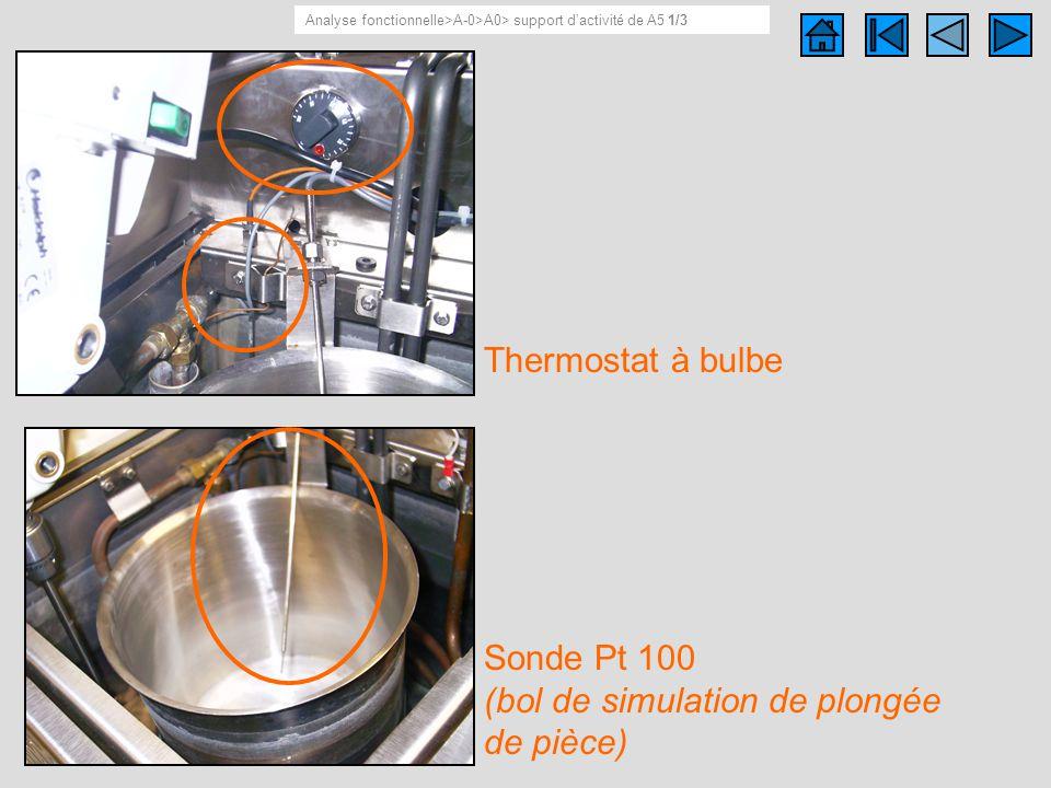 Support dactivité de A5 1/ 3 Analyse fonctionnelle>A-0>A0> support dactivité de A5 1/3 Thermostat à bulbe Sonde Pt 100 (bol de simulation de plongée d
