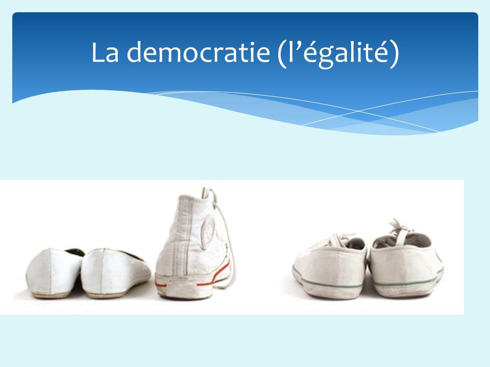 La democratie (légalité)