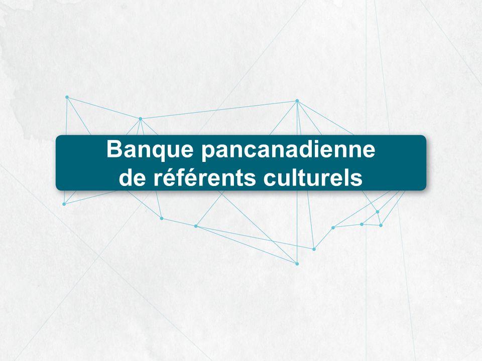 Banque pancanadienne de référents culturels